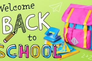 Aug 24 – back to school