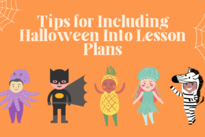 Halloween in lesson plans